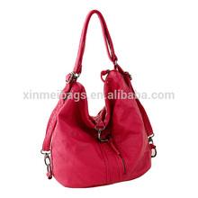 2015 China manufacturer fashion shoulder bag with three usages for girls
