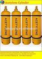 Made in China aço acetileno cilindro de gás preço