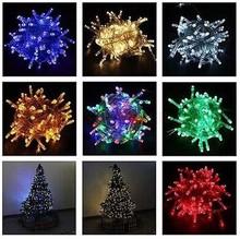 10M 100 LED Lights Decorative Christmas Party Festival Twinkle String Lights Bulb 220V EU outdoors christmas light