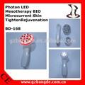 Photon LED mesoterapia BIO microcorrentes pele aperta rejuvenescimento / hora mestre equipamento da beleza injeta colágeno / BD-168