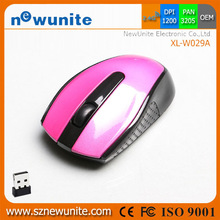 2014 Gifts hot wireless computer mouse with USB interface