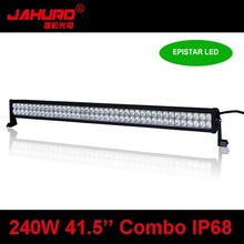 New waterproof 240W hella led light bar ,offroad led bar lights with straight housing