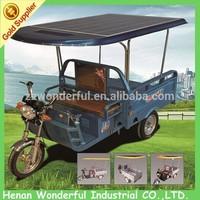 Hot sale low consumption environmental three wheel mini truck