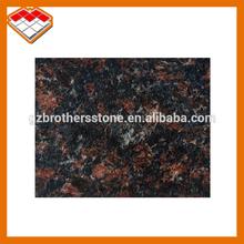 Natural stone polished decorative slab English brown Tan brown granite