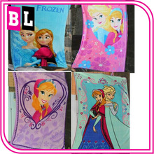 2014 Brand New Girls Frozen Coral Fleece Blanket Frozen Elsa
