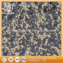 Decorative black gold crack spray electrostatic dry powder paint