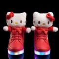 Diminiqi 2014 neue mode sneaker schuhe mit led-leuchten/usb ladung