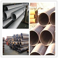 ERW Welding Line Type and Welded Type Steel Pipe for Construction