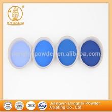Blue muticolors automatic manufacture electrostatic powder coating