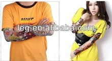 Fake Temporary Most Fashion and Novelty Body Arm Stockings Tattoo Sleeves