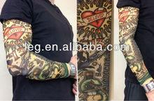 Born To Be Wild Beloved Heart Fake Temporary Tattoo Arm Sleeve
