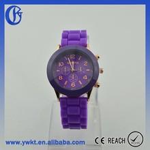 geneva watch geneva silicone jelly watch geneva brand watch