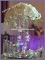Nouvelle décoration de mariage cristal