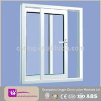 2014 Wholesale upvc waterproof bathroom windows section