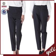 Alibaba BV Certificate Factory Own Design!!!2015 new fashion designs women black sweat pants