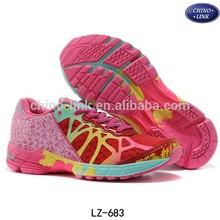 Bright color famous brand shoe,woman sports shoe