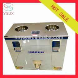 two weighers manual tea bag packing machine