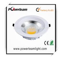 AC100-240V 1W led down light, CRI>80 high lumen CNC casting