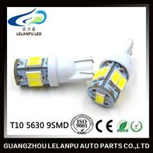 auto led interior light 5630 9 smd led t10 5w5 bulbs led light