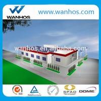 Adjustable flat roof solar panel mounting bracket system