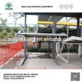 hidráulico de elevación dos post de dos niveles de garaje ascensor aparcamiento de coches el equipamiento del vehículo