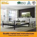 sofá cama moderno de la moda barata de hierro forjado para adultos cama cama individual piezas marco
