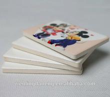 77*52*7mm Sublimation rectangle Ceramic Fridge Magnet