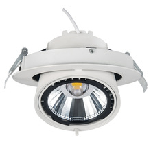 FIREFLY COB adjustable rotated gimbal oriented multi color led recessed lighting high CRI cut out hole 145mm