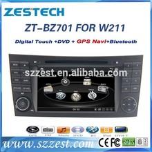 car radio for mercedes benz w211 car radio with mp3 player dvd video media 3G accessories ZT-BZ701