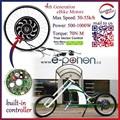 """26"""" arrière, 48v 1000w kit de conversion électrique de vélo moteur"""