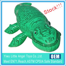 Stock for Wholesale Inflatable PVC Rider on Toys Inflatable Crocodile