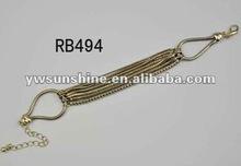 Antique copper snake bracelet rope