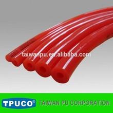 TPUCO Red hollow polyurethane round belting