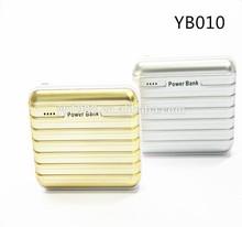New luggage power bank 6000mah portable power bank
