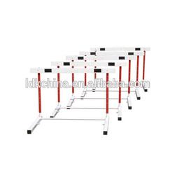 Track and field equipment plastic hurdles