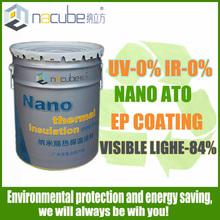nano transparent heat insulation Glass Coating