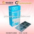preservativo de látex com embalagem de alta qualidade