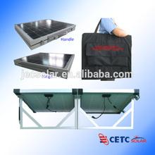 140W Folding Solar Panel Kit