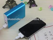 2014 hot sale aluminum Case 10400 mah Lithium 18650 Samsung Battery Power Bank