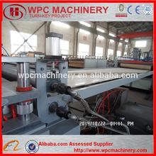 WPC PVC foam Board Machine crust board making