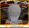 45cbm 3axles cement tanker semi trailer (v type) with WABCO brand brake air chamber