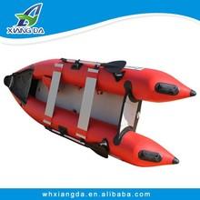 China Manufacture plastic fishing canoe kayak