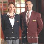 2014 hotel workman uniform, bespoke uniform,made to measure men business formal wool suits
