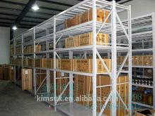 Guangzhou supplier , professional service,huge warehouse two-tier steel Mezzanine Floor rack