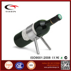 2015 accept OEM decorative metal bottle wine carrier