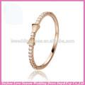 wr0008 novo modelo em estoque 18k ouro rosa anel