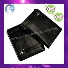 Genuine leather branded wallet