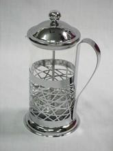 Abstract Totem Design Glass six-cup Hot Tea Maker