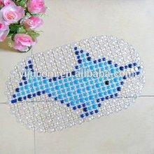 Yiwu high quality artistic animal anti slip bath mat