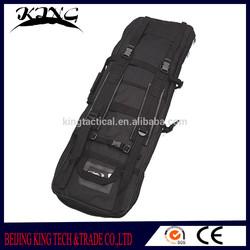 Super durable nylon military gun bag , fashion novel matte black golf gun bag
